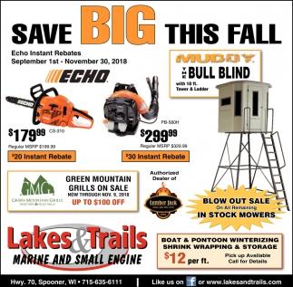 Save Big This Fall