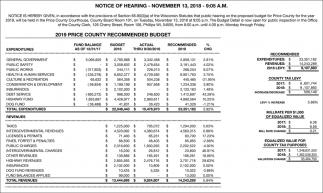 Notice of Hearing - November 13, 2018