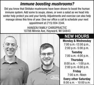 Immune Boosting Mushrooms?