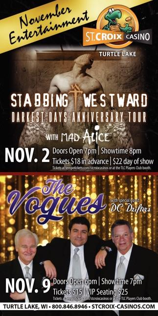 November Entertainment