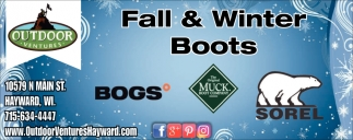 Fall & Winters Boots