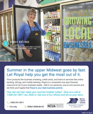 Summer in the upper Midwest goes by fast. Let Royal help you get the most out of it.