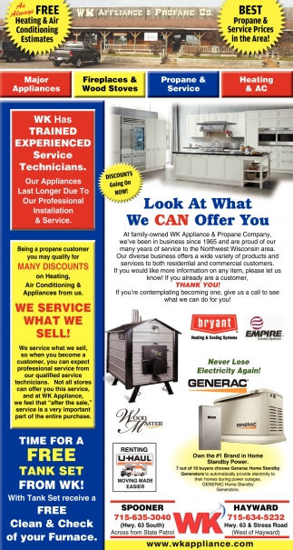 Best Propane & Service Prices In The Area