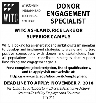 Donor Engagement Specialist