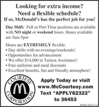 Looking for extra income? Need a flexible schedule?