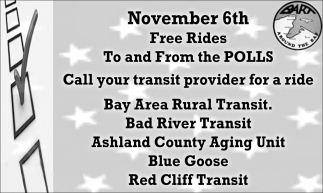 Free Rides To and From the Polls