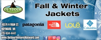 Fall & Winters Jackets