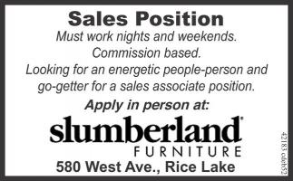 Sales Position