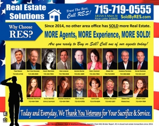 More Agents, More Experience, More Sold!
