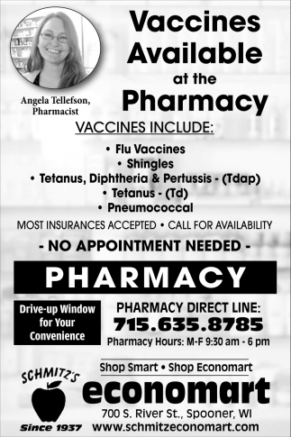Vaccines Available