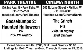The Grinch, Goosebumps 2: Haunted Halloween