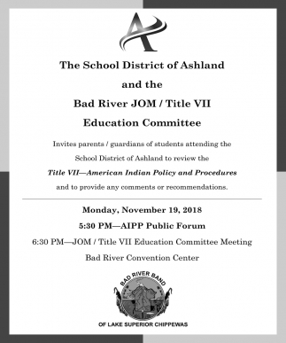 Invitation to Review the Title VII - American Indian Policy and Procedures