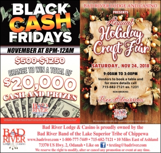 Holiday Craft Fair/Black Cash Fridays
