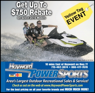 Get Up To $750 Rebate