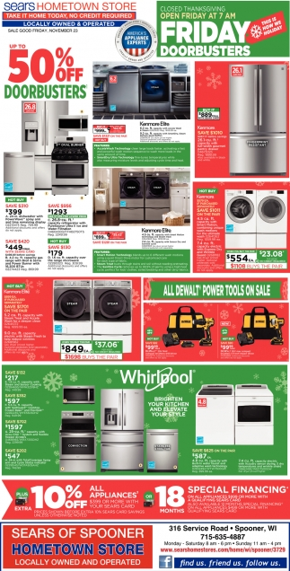 Friday Doorbusters