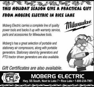 Gift Certificates Are Also Available