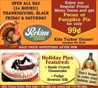 TISHA: Perkins restaurant hudson wi