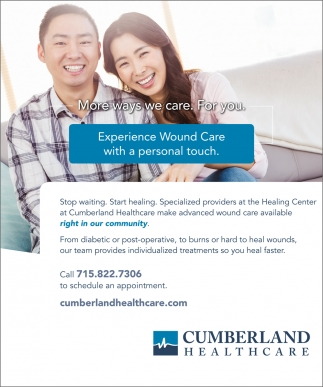 More Ways we Care. For You.