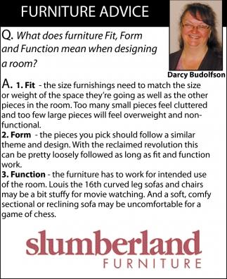 Furniture Advice