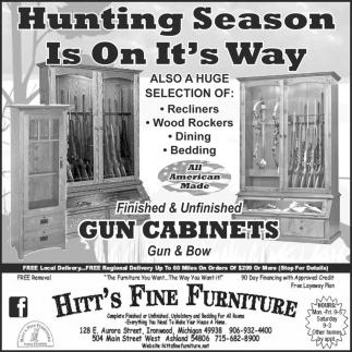 Hunting Season Is On It's Way