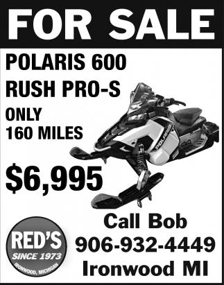For Sale Polaris 600
