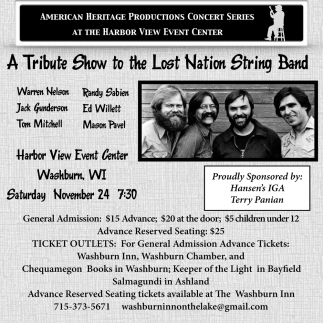 A Tribute Show to the Lost Nation String Band
