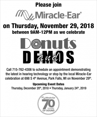 Donuts and Demos