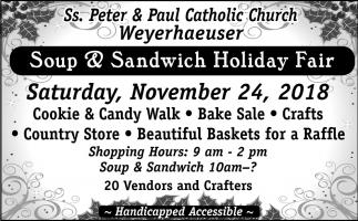 Soup & Sandwich Holiday Fair