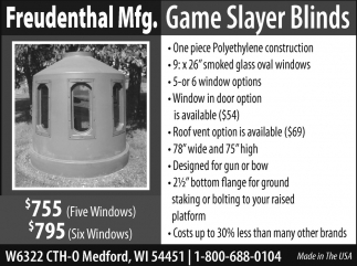 Game Slayer Blinds