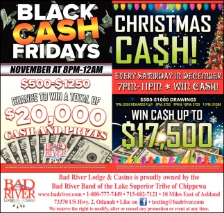 Black Cash Fridays/Christmas Cash