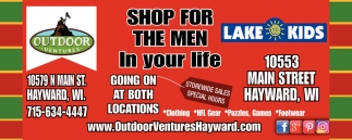 Shop for the men in your life