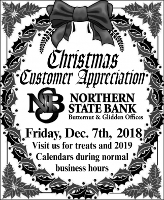 Christmas Customer Appreciation