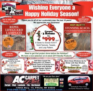 Wishing Everyone a Happy Holiday Season!