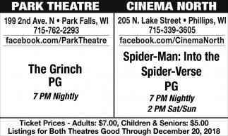 The Grinch/Spider-Man: Into the Spider-Verse