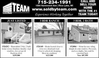 Call and Sell Your Home With the # 1 Team Today!