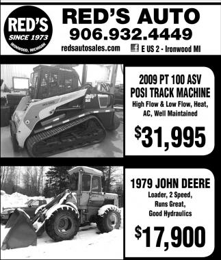 Posi Track Machine / 1979 John Deere