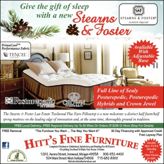 Give the Gift of Sleep With a New Stearns & Foster