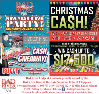 Christmas Cash/New Year's Eve Party