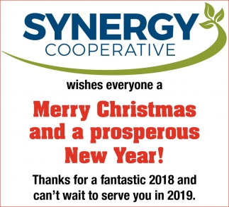 Merry Christmas And A Prosperous New Year!