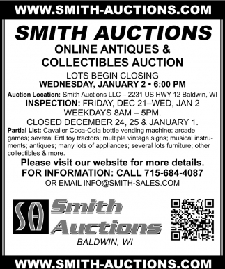Online Antiques Auction