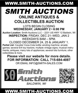 Online Antiques Auction