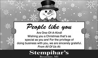 People like you...