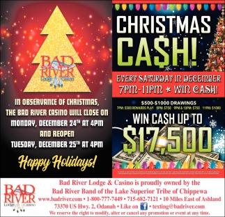 Christmas Cash/Happy Holidays