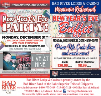 New Year's Eve Party/New Year's Eve Buffet