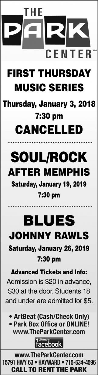 Music Series: Soul/Rock - Blues