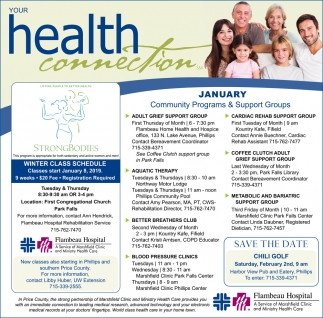 January Community Programs & Support Groups
