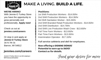 Make A Living. Build A Life.
