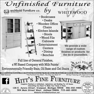 Unfinished Furniture!