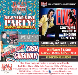New Year's Eve Party/Elvis Costume, Dance & Singing Contest