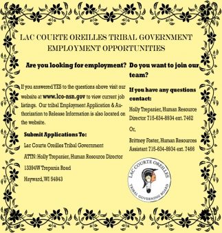 Are You Looking for Employment?